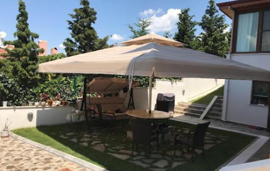 Bahçe Şemsiyesi - Büyük boy - masalı